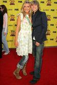 Katie Cassidy and Jesse Mccartney at the 2005 Teen Choice Awards. Universal Studios, Universal City, CA. 08-14-05. — Stock Photo