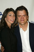 Kevin Weisman and wife Jodi at the Childrens Defense Fund 15th Annual Los Angeles Beat the Odds Awards, Beverly Hills Hotel, Beverly Hills, CA 10-06-05 — Stock Photo