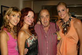 Julia Verdin, Phoebe Price, Norman Vane and Meghan Fabulous — Stock Photo