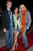 Travis Bogle, Danni Theobald and Jennifer Blanc — Stock Photo