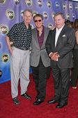 Rene Auberjonois, James Spader and William Shatner — Stock Photo