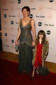 Geena Davis and Jasmine Jessica Anthony — Stock Photo