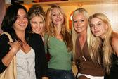 Annie Deptula, Abby Leigh, Annamarie Lytle, Katie Lohmann and Amanda Clouser — Stock Photo