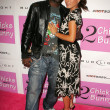 Sam Sarpong and Kerri Kasem — Stock Photo