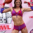 Adrianne Curry at the Lingerie Bowl III Kick-Off Celebrity Quarterback Photo Shoot, Private Location, Long Beach, CA 05-27-05 - Foto de Stock  