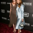 Katie Flynn and Jane Seymour at the 12th Annual Premiere Women in Hollywood. Beverly Hilton Hotel, Beverly Hills, CA. 09-20-05 - Lizenzfreies Foto