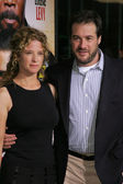Robert N Fried and Nancy Travis — Stock Photo