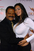 Ted Lange and Tera Patrick — Stock Photo