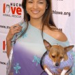 Kelly Hu at the Much Love Animal Rescue Shop Til You Drool Benefit, 5th and Sunset Studios, Los Angeles, CA 04-30-05 — Stock Photo