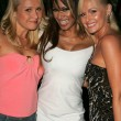 Alana Curry with Traci Bingham and Katie Lohmann at the Jelessy Collection Summer Party. Cabana Club, Hollywood, CA. 08-17-05 — Stock Photo #16718785