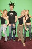 Elaine Klimaszewski and Phil X with Ninette Terhart and Diane Klimaszewski — Stock Photo