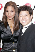 Halle Berry and Donald Tang — Stock Photo