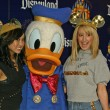 Brenda Strong, Donald Duck and Ashley Tisdale — Stock Photo #16720655
