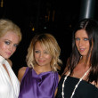 Постер, плакат: Lindsay Lohan Nicole Richie and Nicky Hilton
