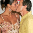 Adrianne Curry and Christopher Knight  At The Hollywood Reporter 75th Anniversary Gala, Pacific Design Center, Hollywood, CA 09-13-05 - 图库照片