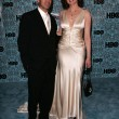Geena Davis and husband Reza - 图库照片