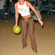 Katie Lohmann  at the Bowling For Barks, Pickwick Bowling Center, Burbank, CA 06-05-05 - 图库照片