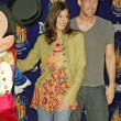 Stock Photo: Mickey Mouse, Teri Hatcher and Jamie Denton
