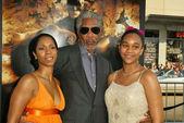 Freeman de morgan com morgana filha e neta alexis — Foto Stock