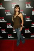 Kelly Hu at the 1st Annual Stuff Style Awards. The Hollywood Roosevelt Hotel, Hollywood, CA. 09-07-05 — Stock Photo