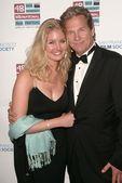 Isabelle Bridges and Jeff Bridges — Stock Photo