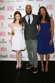 Anna Kendrick, Common, Zoe Saldana — Stock Photo