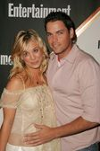 Kaley Cuoco and Jaron Lowenstein — Stock Photo