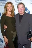 William shatner ve elizabeth martin anderson — Stok fotoğraf