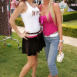 Stok fotoğraf: AlciArden and Katie Lohmann at W Hollywood Yard Sale Presented by Guess benefitting Clothes Off Our Back. Private Residence, Brentwood, CA. 09-17-05