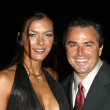 Adrianne Curry and Christopher Knight At The Roof is on Fire Party, Museum of Television and Radio, Beverly Hills, CA 08-23-05 — Stock Photo #16738579