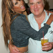 Traci Bingham and Clement Von Franckenstein — Stock Photo