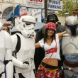 Bai Ling and Eetflix Deliver DVD Relief to Star Wars Fans — Stock Photo #16739009