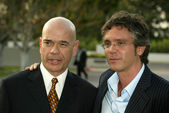 Robert Picardo and Brannon Braga — Stock Photo