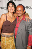 Maria Conchita Alonso and Sergio Lopez — 图库照片