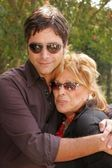 John Stamos and Martine Colette — Stock Photo