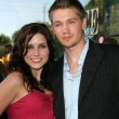 Sophia Bush and Chad Michael Murray — Foto Stock