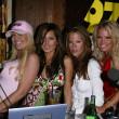 Kerry OConnell, Kerri Kasem, Galen Brown and Tina Jordan at the Two Chicks and a Bunny at the Saddle Ranch, The Saddle Ranch Chop House, West Hollywood, CA 07-17-05 — Stock Photo