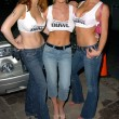 Alexandra Sullivan, Katie Lohmann and Jaimarie Bjorge out on the town at a private party, Mood, Hollywood, CA 08-03-05 — Stock Photo