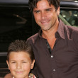 John Stamos and nephew — Stock Photo