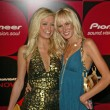 Paris Hilton and Kimberly Stewart — Stock Photo
