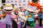 Lauralee Bell and family — Stock Photo