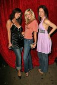 Jenna Brook, Kelly Vaughn and Mia Crowe — Stock Photo