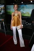 Kelly Kruger at the premiere of HBOs Entourage at the El Capitan Theater, Hollywood, CA 05-25-05 — Stock Photo