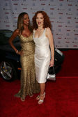 Holly robinson p e amy yasbeck — Foto Stock