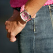 Teri Hatcher's watch — Stock Photo