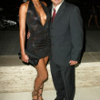 Adrianne Curry and Christopher Knight At The Roof is on Fire Party, Museum of Television and Radio, Beverly Hills, CA 08-23-05 — Stock Photo #16753105