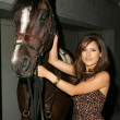 Kerri Kasem Arrives at the In Touch Pets and their Stars Party — Zdjęcie stockowe