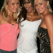 Alana Curry with Traci Bingham and Katie Lohmann at the Jelessy Collection Summer Party. Cabana Club, Hollywood, CA. 08-17-05 — Stock Photo