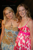 Alana Curry and Nicholle Tom at the Ed Hardy Vintage Tattoo Wear Fashion Show, Hollywood, CA 05-21-05 — Stock Photo