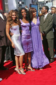 Beyonce, Kelly Rowland, Michelle Williams — Stock Photo